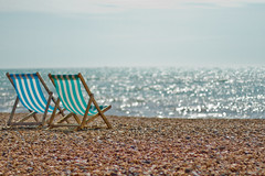 Out to Sea (Usuf Islam) Tags: uk sea england seascape beach water canon sussex seaside brighton canon7d