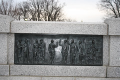 WWII Relief Casting 2/12 (Sean Crocker) Tags: washingtondc dc washington memorial wwii swearingin enlist reliefcasting
