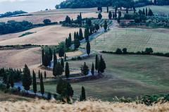 curve e cipressi (Cafferacer59) Tags: road italy tourism nikon strada italia tuscany campo curve toscana cretesenesi cipressi monticchiello d7000 nikond7000