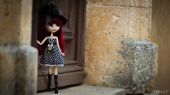 """""""It is not the strong or the smart that survive, but the ones who can bring about change;"""" (MintyP.) Tags: pullip doll groove elwyna merl whispering island wig animal eyes obitsu s sony nex 6 photography mintyp minty poupe"""