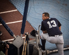 Alex Rodriguez in his last series at Fenway... (hickamorehackamore) Tags: 2016 arod alexrodriguez august boston fenway fenwaypark ma massachusetts redsox redsoxvsyankees yankees baseball battingpractice summer