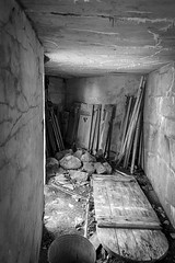 Root Cellar at Lusscroft Farm (John Prause) Tags: lusscroftfarms rootcellar storage blackandwhite blackwhite bw greyscale nj newjersey sussexcounty wantage winter 2015