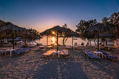 Sunset in the island (Vagelis Pikoulas) Tags: sun sunset beach canon 6d tokina 1628mm view summer july 2016 kythnos kyklades island europe greece travel sand sunburst sunshine landscape