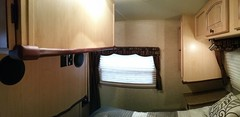 Bedroom edge and corner guard pano (JD and Beastlet) Tags: camper travel trailer rv 2012 rockwood 2701ss slide 27 foot recreational vehicle camping camp family vacation together sharp edge corner cushion guard safety