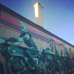 July day 29: Three #fmsphotoaday #fms_three #three #biker #motorbike #graffiti #graffitiporn #innerwest #sydney #urbanart #streetart #marrickville #perfectmatch (global.local) Tags: instagramapp square squareformat iphoneography uploaded:by=instagram rise