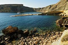 The beautiful and wild nejna Bay - Marr - Malta (PascalBo) Tags: nikon d300 malta malte europe nejnabay gnejnabay marr mgarr seascape landscape paysage sea mer beach plage outdoor outdoors pascalboegli