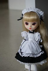 Ziggy (Sarah Boude) Tags: pullip doll poupe groove jun planning stica rewigged custom cute vintage maid