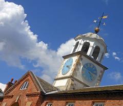 Summer time (Camperman64) Tags: clumberpark nottinghamshire dukeries summer bluesky stables clocktower