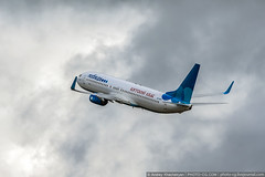 Moscow region, Vnukovo, Russia - July 21, 2016: (Andrey Khachatryan) Tags: 737 738 aeroflot aeroplane air aircraft airline airlines airplane airport arrival arriving aviation background baggage boeing closeup cloudy departure dobrolet engine flight gray holiday industry international jet jetliner journey landing logo lowcost luggage photo photography plane pobeda recreation runway sky spotting sticker takeoff travel trip twin vnukovo vyatskiykvas
