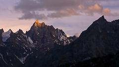 Baintha: Sunlit tip (Shahid Durrani) Tags: biafo glacier karakorams gilgit baltistan pakistan