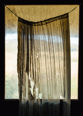 The Hidden (John Westrock) Tags: thornton washington door curtain abandoned house pacificnorthwest canoneos5dmarkiii canonef1635mmf4lis