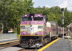 420 @ Ayer (imartin92) Tags: ayer massachusetts mbta massachusettsbaytransportationauthority commuter rail fitchburg line passenger train emd gp40mc locomotive