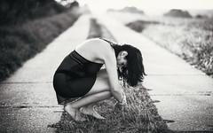 deep (heidel-art) Tags: portrait portrt monochrom monochrome mono beauty beautiful art black white blackwhite blackandwhite schwarzweiss girl people face outdoor nikon d810