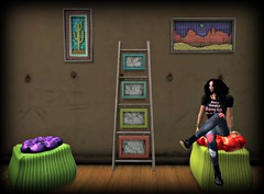 The Artists Shed (melyna.foxclaw) Tags: magnumopus mo theartistsshed iheartslfeed halloween homedecor homegarden facepalm iconic thewash indiansummer