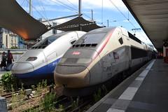 SNCF TGV Duplex 277 & Euroduplex 812 (310224) (Will Swain) Tags: paris gare de lyon 18th july 2016 train trains rail railway railways transport travel vehicle vehicles europe france french voyage capital city centre parisien ile ledefrance le socit nationale des chemins fer franais  grande vitesse sncf tgv duplex 277 euroduplex 812 310224