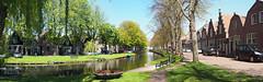 Idyllic Holland Canal & trees (joiseyshowaa) Tags: edam volendam netherlands holland canal house home tree markermeer