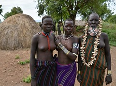 Mursi women (8) (Prof. Mortel) Tags: ethiopia omovalley mursi