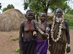 Mursi women (8) (Prof. Mortel) Tags: ethiopia omovalley mursi