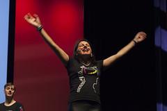 Tania singing at TEDx2016