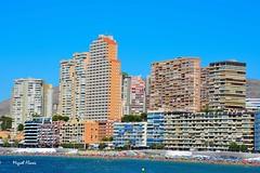 Benidorm (J.MIGUEL FLORES) Tags: benidorm playa poniente hoteles mar