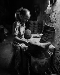 Handcrafted Cap making (caps fitted very tightly with wooden moulds put in a steam cauldron for smoothening) (Mustafa Selcuk) Tags: 16mm 16mmf14 2016 buyukvalidehan eminonu fujifilm istanbul street streetphotography xpro2