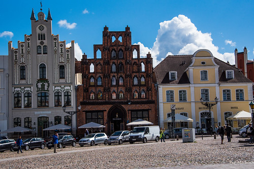 2016 - Baltic Cruise - Wismar - Alter Schwede House
