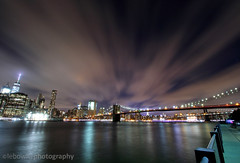 The Brooklyn Bridge at night (JetImagesOnline) Tags: new york city brooklyn lower manhattan long exposure dumbo sunset night photography