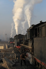 I_B_IMG_9156 (florian_grupp) Tags: asia china steam train railway railroad fuxin liaoning sy coal mine 282 mikado steamlocomotive locomotive