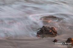 Flowing In (Connar L'Ecuyer) Tags: socal beach landscape sunset cloud ocean clouds goldenhour cloudy malibu elmatador rocks