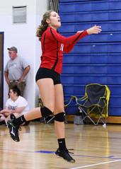 IMG_3033 (SJH Foto) Tags: girls volleyball high school mount olive mt team tween teen teenager varsity serve burst mode