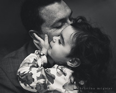 (Christina McGuire) Tags: love daddy lashes daughter daddydaughter iheartfaces