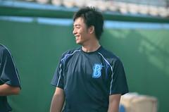 DSC_0388 (mechiko) Tags: 横浜ベイスターズ 130202 王溢正 横浜denaベイスターズ