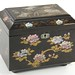 1007. Chinese Black Lacquered Tea Caddy