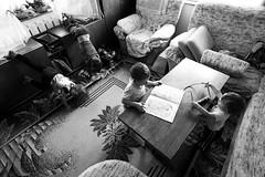 full house (I.Dostl) Tags: blackandwhite bw white house black home kids children blackwhite play bn full fullhouse cb blackandwhiteonly