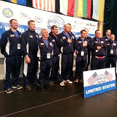 USA Ice Team at the Ice Fishing World Championship (Dan Small Outdoors) Tags: icefishing bigeaupleine dansmall jeffkelm outdoorsradio usaiceteam icefishingworldchampionship