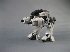 Mini LEGO ED-209 from Robocop (ninbendo) Tags: movie lego mini robocop ed209 ninbendo ninbend0