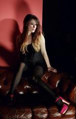 483467_420793937989471_1143435823_n (rebekahamarine) Tags: pink fashion model marine ombre rebekah heels editorial amputee