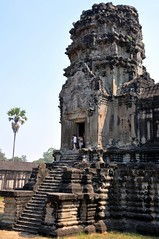 One of the corner towers (teohwp85) Tags: corner one cambodia towers siem reap angkor wat mygearandme mygearandmepremium mygearandmebronze mygearandmesilver