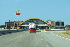 World's Largest McDonald's (Eridony (Instagram: eridony_prime)) Tags: oklahoma highway mcdonalds freeway interstate glasshouse vinita i44 willrogersturnpike craigcounty