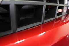 Speed Shield Chevrolet Camaro SS, 2013 Blood Red (speed shield) Tags: dallas texas ss vinyl camaro addison bloodred clearbra slightlymodified chevroletcamaross paintprotectionfilm 3m1080 brushedblackaluminum customvinylwraps