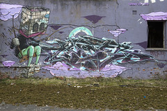 3Dom Voyder (UE Critical Mass) Tags: bristol graffiti barracks abandone 3dom dissused voyder