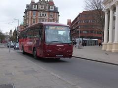 trent barton 68 Nottingham (Guy Arab UF) Tags: nottingham bus buses coach transport entrance step trent barton scania lothian 68 irizar intercentury k94 wellglade wellgladegroup fn04bsx