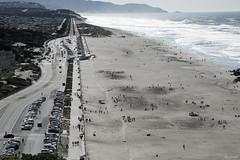 Ocean Beach (B&W) (zoxcleb) Tags: sanfrancisco california canon flickr unitedstates meetup flickrwalk sfflickrmeetup 5dmk3 sfflickrwalk