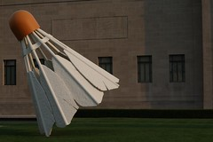 Shuttlecock (andrewbuter) Tags: museum kansascity missouri shuttlecock nelsonatkinsmuseumofart
