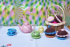 Cakes crochet - Dolcetti all'uncinetto (OltreversoLab) Tags: cakes crochet dolcetti uncinetto