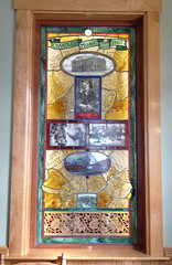 stained glass (jessamyn) Tags: vermont stainedglass chandler randolph townmeeting randolphvt townmeetingday tmdvt townmeeting2013 tmdvt13 tmdvt2013