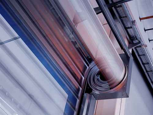 Высокоскоростные ворота STT Efaflex круглая спираль