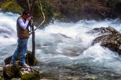 LA SORGUE_Fontaine de Vaucluse-217 (marcdelfr) Tags: travel france water river landscape flow spring whitewater scenics speeds vaucluse sorgue riverspeeds
