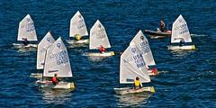 Sailing Class (Timothy Valentine) Tags: blue boats large rhodeisland sail narragansettbay 0912 sliderssunday afsnikkor28300mmf3556gedvr