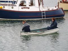Little Boat (divnic) Tags: uk sea water boats harbour yacht northernireland ni dingy moorings countydown sailingboats groomsport belfastlough northdown harbourvillage ardspeninsula northdownborough smallharbourvillage